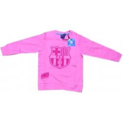 Sudadera niño Fútbol Club Barcelona rosa