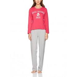 Pijama Rosa Real Madrid mujer invierno rosa
