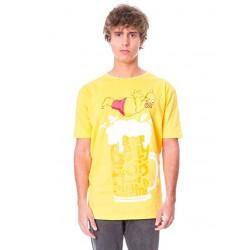 Camiseta The Simpsons adulto amarilla