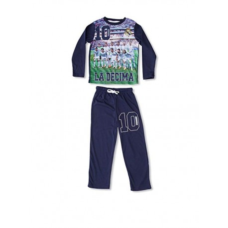 Pijama DECIMA COPA DE EUROPA Real Madrid niño invierno