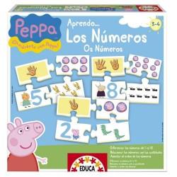 Educa los números Peppa Pig