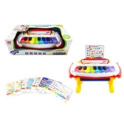 Piano infantil colores multifunción +18 meses