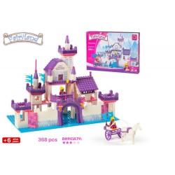 Juego construcción castillo princesas fairy 368 piezas