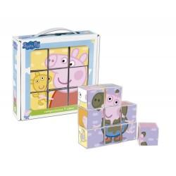 Cefa rompecabezas 9 cubos Peppa Pig