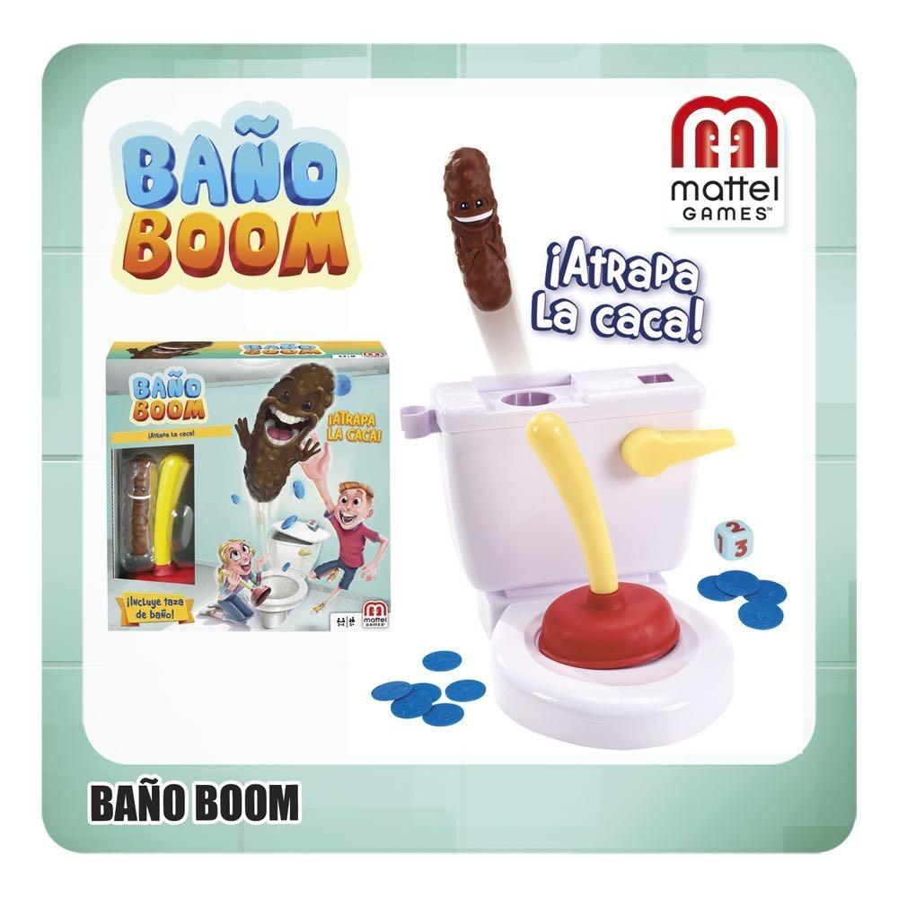 Juego De Mesa Bano Boom Entrega Urgente