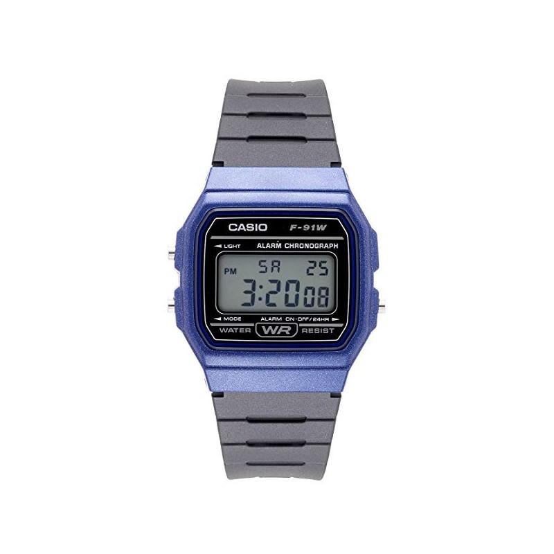 8ceacb9f6155 Reloj Casio F-91WM-2A azul - Tienda de relojes casio