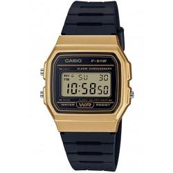 Reloj Casio F-91WM-9A dorado