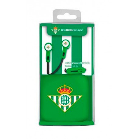 Auriculares del Real Betis Balompié