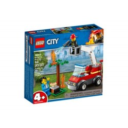 Lego City Fire 60212 Incendio en la Barbacoa