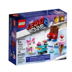 Lego LEGO Movie 70822 ¡Mejores Amigos de Unikitty en TODO EL MUNDO!