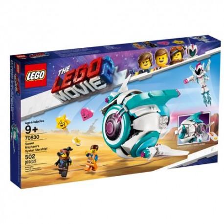 Lego LEGO Movie 70830 Nave Systar de Dulce Caos