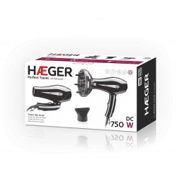 Secador de viaje Haeger Perfect travel 750W HD-750