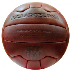 Balón Fútbol Club Barcelona retro vintage