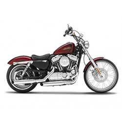Harley Davidson 2012 XL 1200V Seventy-Two escala 1:18