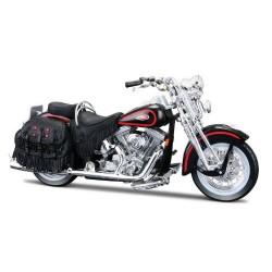 Harley Davidson 1998 FLSTS Heritage Springer escala 1:18