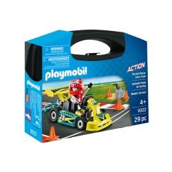 Playmobil 9322 Maletín Go Kart