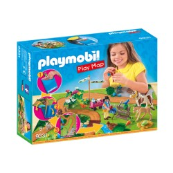 Playmobil 9331 Play Map Paseo con Ponis