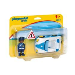 Playmobil 9384 1.2.3 Coche de Policía