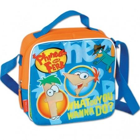 Phineas y Ferb bolsa portameriendas térmica