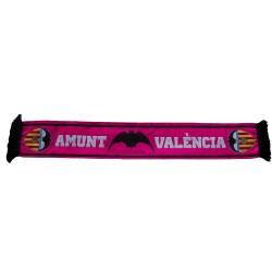 Bufanda del Valencia CF amunt rosa alta definición