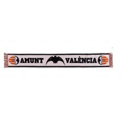 Bufanda Valencia CF blanca amunt Valencia