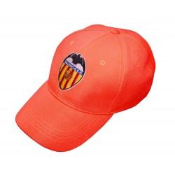 Gorra Valencia Club de Fútbol adulto naranja