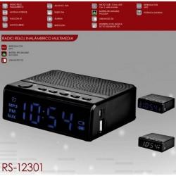 Radio Reloj Despertador con entrada auriculares Sami RS-4725