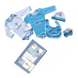 Celta de Vigo pack bebé recien nacido 5 piezas