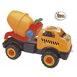 Mega Camión hormigonera plástico 80cm