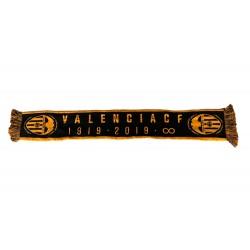 Bufanda Valencia CF Doble centenario negra