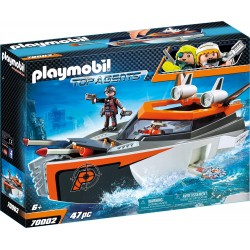 Playmobil 70005 Top Agents Team S.H.A.R.K. Drill Destroyer