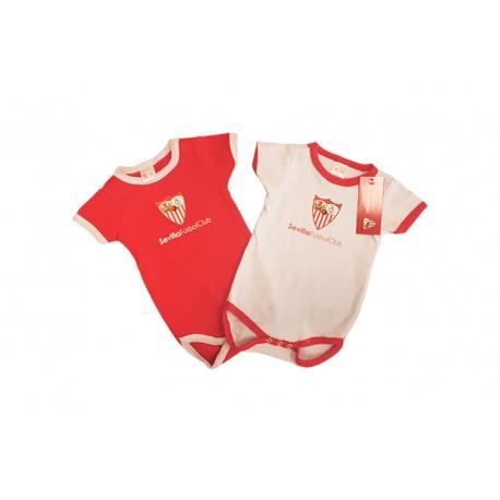 Body bebé Sevilla Fútbol Club verano