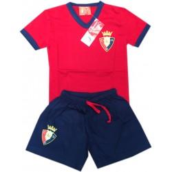 Pijama Club Atlético Osasuna niño invierno