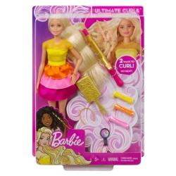 Muñeca Barbie Crea sus Ondas con Accesorios para Peinar