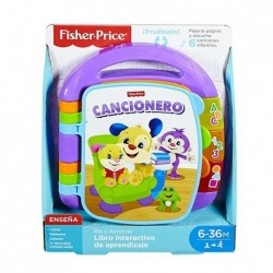Fisher-Price Libro cancionero interactivo de aprendizaje