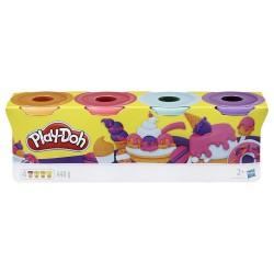 Pack Play-Doh Dulces 4 botes de 448g cada uno
