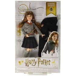 Harry Potter Muñeco de Hermione Granger con uniforme y capa de Gryffindor 26cm