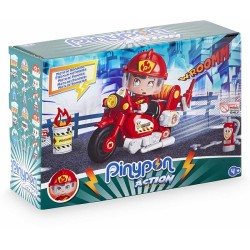 Pinypon Action moto de bomberos
