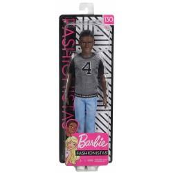 Muñeco Ken Fashionistas Mattel afroamericano con Camiseta Los Ángeles