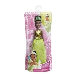 Muñeca Princesa Disney Tiana Brillo real 30cm