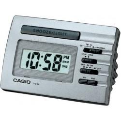 Despertador digital Casio DQ-541D8R plateado