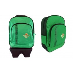 Mochila Real Betis adaptable a carro 40x14x32cm