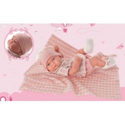 Antonio Juan recién nacida Nica Toquilla 42cm
