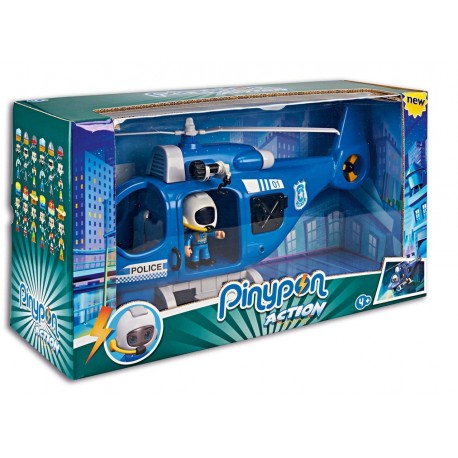 Pinypon Action coche bomberos