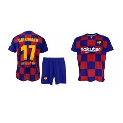 Equipación FC Barcelona niño MESSI camiseta pantalón tallas 6 a 14