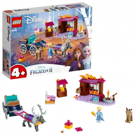 LEGO Disney Frozen 41166 Aventura en Carreta de Elsa
