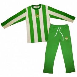 Pijama Real Betis invierno niño talla 2