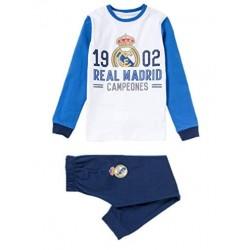 Pijama Real Madrid niño invierno Tallas 6 a 16