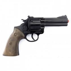 Revolver policia 12 tiros...
