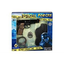 Pistola policía juguete con...